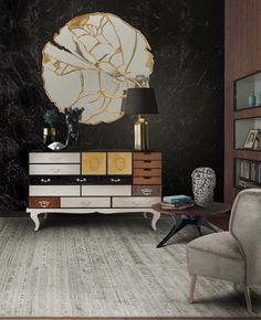 Every Modern And Contemporary Exclusive Living Room Decor Ideas Have Something In Common The Exquisite Sideboard