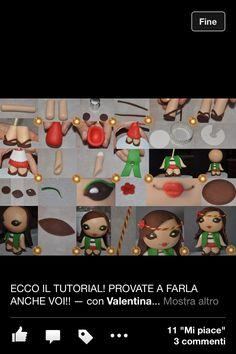 #tutorial #figurine #lady #sugarpaste #mykomadori #bambolina #pastadizucchero ##cute #love