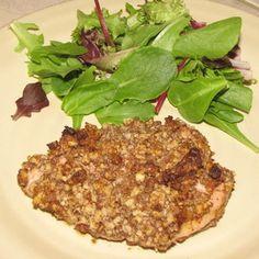 Paleo Pecan-Crusted Chicken | everydaypaleo.com | MyRecipes.com  http://www.myrecipes.com/recipe/paleo-pecan-crusted-chicken-everydaypaleo-com-200662/