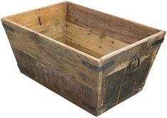 One Kings Lane Vintage French Salavaged Wood Storage Box - Rose Victoria Wood Storage Box, Shed Storage, Coffee Table With Storage, Diy Storage, Locker Storage, Outside Storage, Outdoor Storage, Farm Style Table, Simple Shed