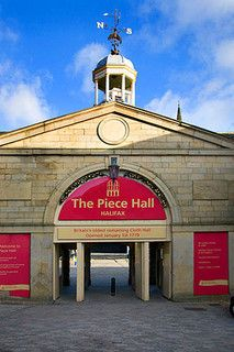 The Piece Hall Halifax Halifax West Yorkshire England by © Mark Sunderland www.marksunderland.com, via Flickr