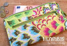 Probegenäht   Die MoneyBag von Keko-Kreativ   greenfietsen   Bloglovin'