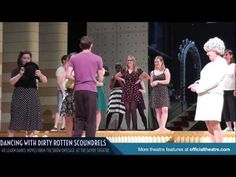 Dirty Rotten Scoundrels Dance Routines! - Dancing on the stage of the Savoy Theatre as we learn a dance routine from the musical Dirty Rotten Scoundrels. June 2014.