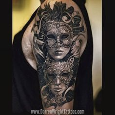 kills it with this amazing healed Masquerade Venetian mask… Cover Up Tattoos, Body Art Tattoos, Small Tattoos, Venetian Mask Tattoo, Arm Tattoo, Sleeve Tattoos, Masquerade Mask Tattoo, Tattoo Addiction, Incredible Tattoos