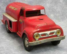 GASOLINE TANKER Truck Barn Fresh