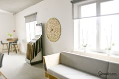 Wooden clock LITTLE 1m+   Woodlovers - Szymon Gacki