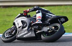 Sykes, Jerez WSBK/MotoGP test, November 2014