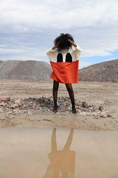 Photographer: Janita Autio MUAH: Sonja Elnahhal Stylist: Meri Milash Red Moon, Light And Shadow, Stylists, Raincoat, That Look, Feminine, Ootd, Concert, Prints