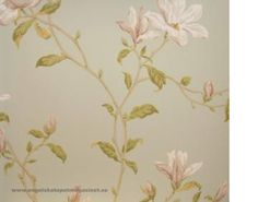 Colefax and Fowler Marchwood Tapet Wallpapers, Bed, Home Decor, Design, Decoration Home, Stream Bed, Room Decor, Wallpaper
