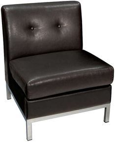 Office Star Products Avenue Six Wall Street Armless Chair