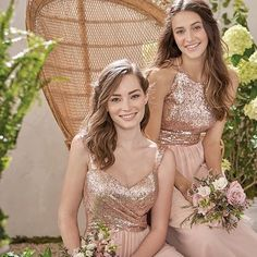 Have your bridesmaids sparkle and shine with @jasmine_bridal.