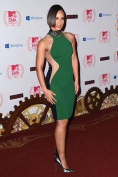Todas las fotos de los premios MTV EMA 2012: Alicia Keys