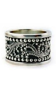 Lois Hill Balinese Silver Ring - love Lois!!!