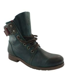 Look at this FLY London Petrol Stay Leather Boot on today! Fly London Boots, Fly Boots, Everyday Steampunk, Fab Shoes, Timberland Boots, Leather Boots, What To Wear, Lace Up, Fashion Styles