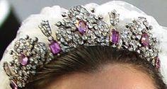 Königliche Juwelen: Savoy Rosa Turmalin Tiara