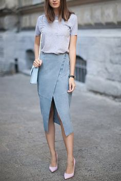 The Best Spring Skirts for Every Body Type #purewow #fashion