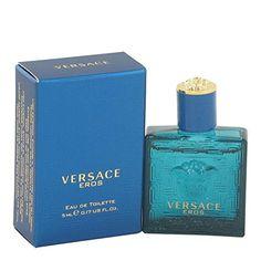 Versace Eros by Versace Men's Mini EDT oz - Authentic Versace Men, Program Design, Mini, The 100, Perfume Bottles, Fragrance, Health Products, Beauty, Amp
