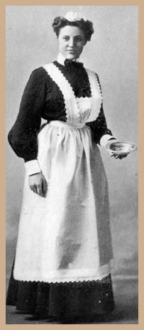 afternoon dress for an Edwardian Maid