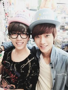 Sandeul and Jinyoung