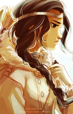 Bianca di Angelo / Hunters of Artemis/ Daughter of Hades / Percy Jackson and the Olympians / The Titan's Curse / art by Viria