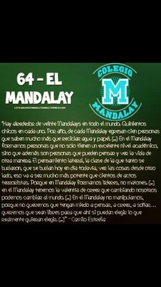 Frases de casi angeles Mandalay, Teen, Movies, Movie Posters, Frases, Films, Film Poster, Cinema, Movie
