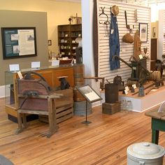 This photo was taken of the Benson Museum of Local history for the new Johnston County promotional videos -- learn more about visiting the county on www.johnstoncountync.org