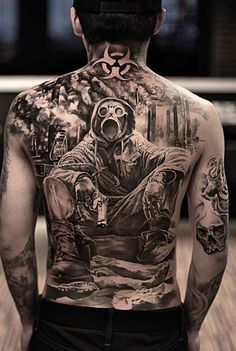 <<Check out the tattoos  #tattoomenow #tattooideas #tattoodesigns #back #fullback Back Tattoos For Guys, Full Back Tattoos, Back Tattoo Men, Life Tattoos, Cool Tattoos, Ear Tattoos, Tatoos, Tattoo Magazines, Arm Band Tattoo