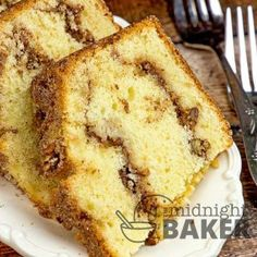 "Whether you eat this for breakfast or dessert, this sour cream coffee cake is sure to please! Sour Cream Coffee Cake Stays Moist Unlike many ""quick-bread"" types of coffee cakes, this one stays moist the next day. The sour cream in the batter is responsible for the moistness. Sour cream also gives a little zing...Read More »"