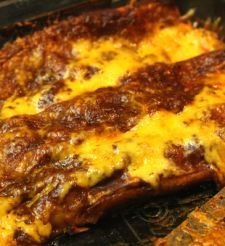 Healthy chicken enchiladas. Must try