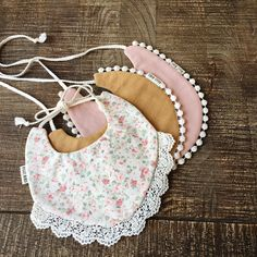 We make baby bibs that are drool worthy for your stylish baby. These bibs are carefully handmade by our local seamstresses in the Pacific Northwest. Baby Sewing Projects, Sewing For Kids, Shabby Chic Baby, Shabby Chic Outfits, Billy Bibs, Reuse Old Clothes, Stylish Baby, Baby Bows, Baby Crafts