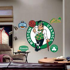 Fathead Boston Celtics Logo Wall Decal, Multicolor