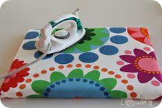 Mini Bügelbrett, mini ironing board, Tutorial, DIY