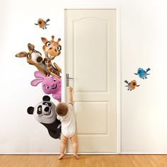 Minion paint on the wall villain fest decor ideas pinterest minion painting walls and - Stencil da parete per bambini ...