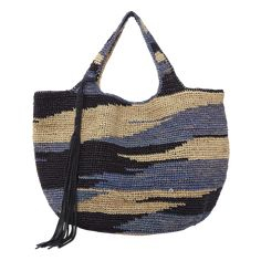 """New Cheap Bags. The location where building and construction meets style, beaded crochet is the act of using beads to decorate crocheted products. """"Crochet"""" is derived fro Crochet Market Bag, Crochet Tote, Crochet Handbags, Bead Crochet, Crochet Star Stitch, Knit Basket, Boho Bags, Crochet Round, Tapestry Crochet"""