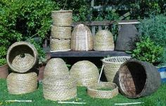 How to Make a Bee Skep