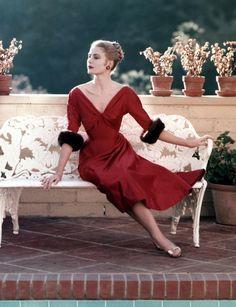 Grace Kelly by Howell Conant, 1955.