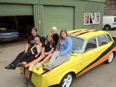 Fritidsklubb jenter med store ambisjoner til Sommerfestivalen Vehicles, Car, Automobile, Autos, Vehicle