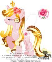 Rose Unicorn Adoptable (CLOSED) by YukiAdoptablesPonies