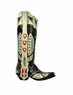 """Calamity Jane 16"""" - Handmade Cowboy Boots from Liberty Boot Co"""