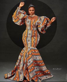 African Prom Dresses, Latest African Fashion Dresses, African Dress, African Attire, Women's Fashion Dresses, Ankara Fashion, African Wear, African Style, Ankara Long Gown Styles