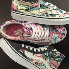 Nothing says spring like some tropical vans! Check them out now at Zumiez