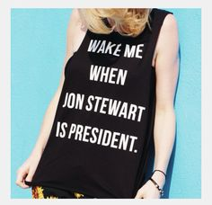 The Tree Kisser tee - Jon Stewart