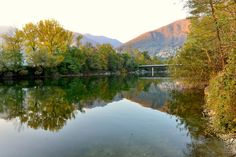 Reflection by Welbis Pestana on Reflection, River, Mountains, Nature, Outdoor, Outdoors, Naturaleza, Nature Illustration, Outdoor Living