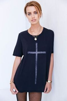 Truly Madly Deeply Cross Tee