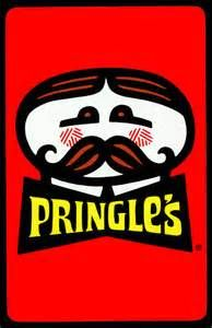 Pringles Chips -G always had these. Chips with Lemonade :) I can still see it and smell it. Sitting on the floor, watching tv, and having a snack.