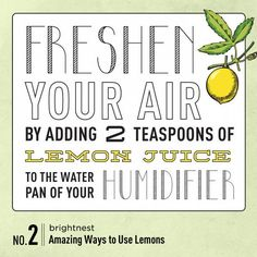 Power to the Lemon: 10 Amazing Household Tips