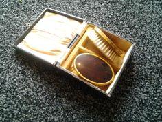 mens  2  brush vanity set by wrightjewels on Etsy, £12.00