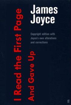 @Betsy Buttram Bernardi Frederick McAdam Better book title for Finnegan's Wake