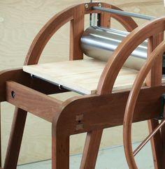 noddyboffin  wooden printing press