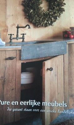 Cabinet materials/style and shallow sink--Margaret